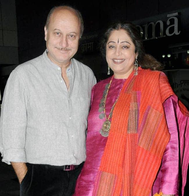 Anupam Kher wife Kirron Kher